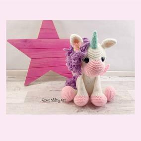 PATTERN Caramel the little pony - amigurumi crochet toy pattern ... | 283x284