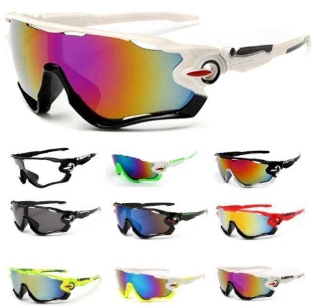 76cbf4a6b1e00 20 Pç Óculos Ciclismo Profissional Estilo Jawbreaker Uv400 - R  438 ...