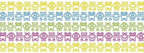 20 perchas de plastico para ropa infantil 30cm