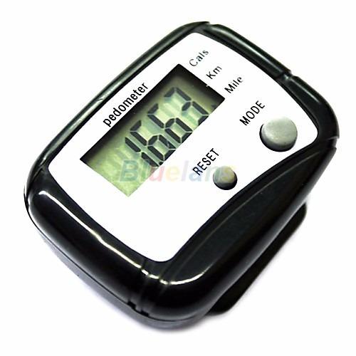 20 piezas podómetro pedometro contar distancia y pasos
