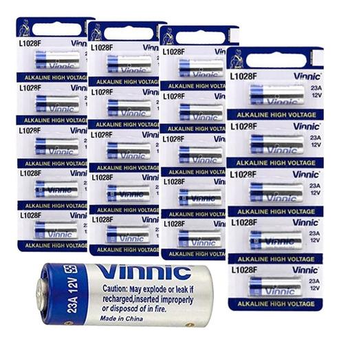20 pilas a23 l1028f 12v alcalina para portones alarma autos