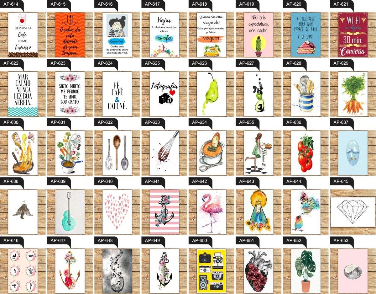 20 Placas Decorativas Mdf Frases Motivacionais Temas Series