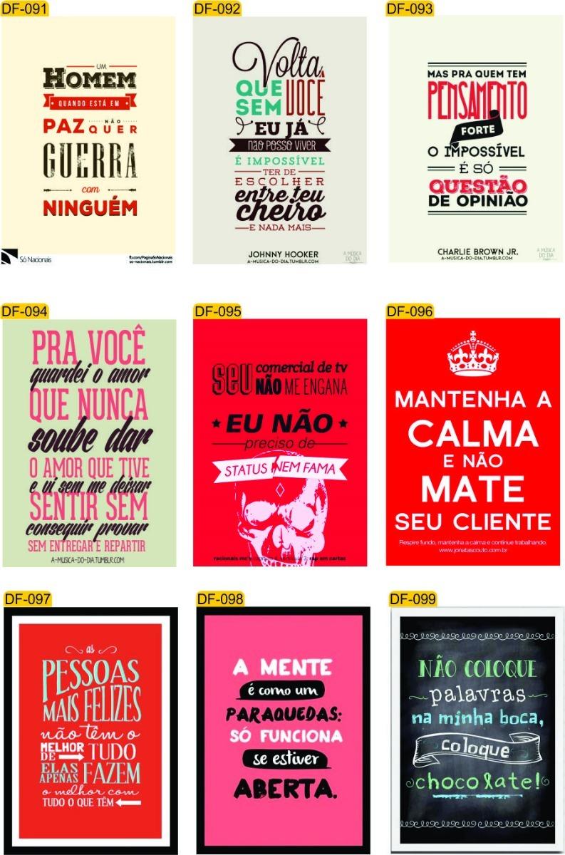 20 Placas Decorativas Retro Vintage Frases Diversas R 17990 Em