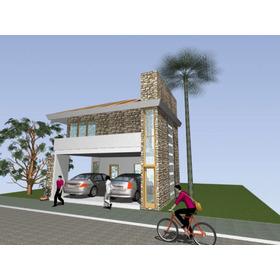 20 Planos De Casas En Autocad Fachada 3d