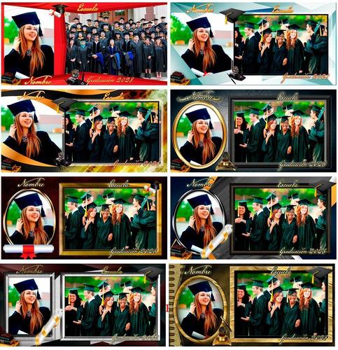 20 plantillas grupales escolares 8x16  psd 300ppp vol2