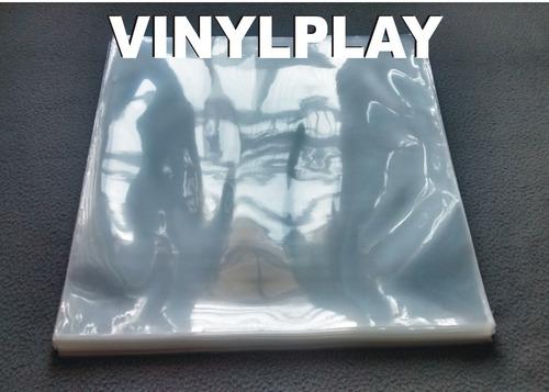 20 plásticos p/ capas 0,20 lp's+internos-disco vinil novela