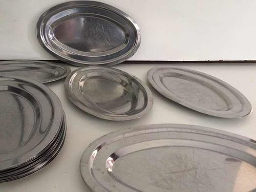 20 platinas de acero ideal parrilla