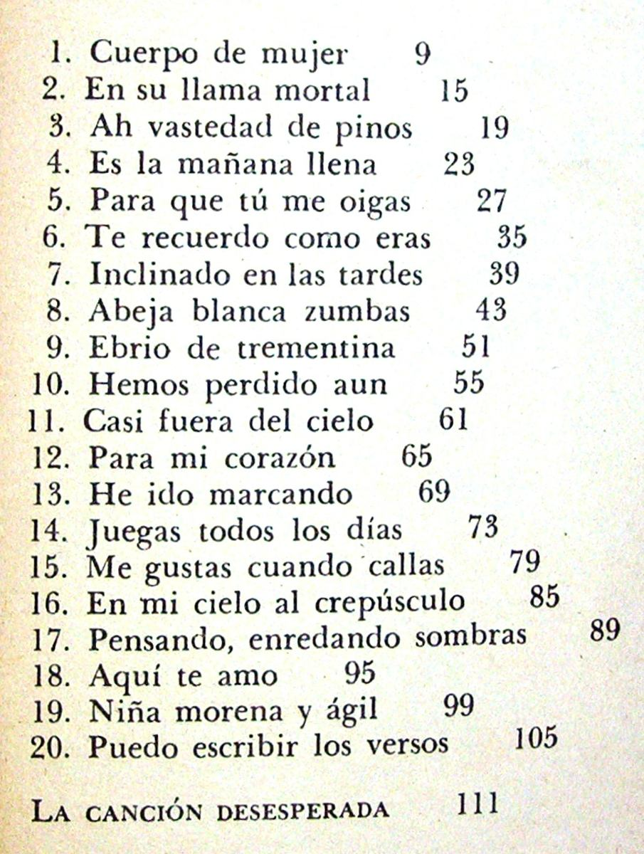 Pablo Neruda Poesias Newhairstylesformen2014 Com
