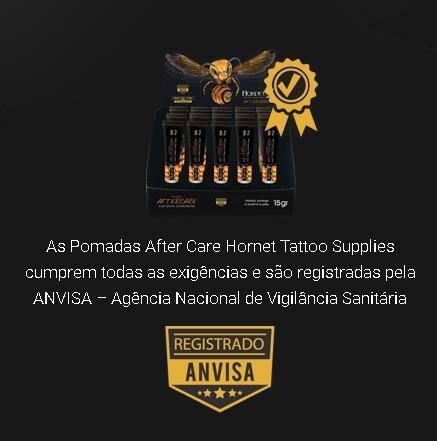 20 pomadas aftercare cicatrizante hornet tattoo tatuagem