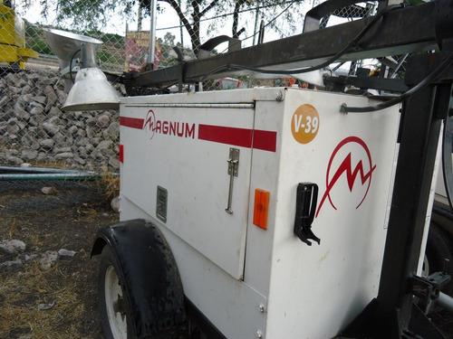 20) promocion torre de luz magnum generador de 6 kw 2006