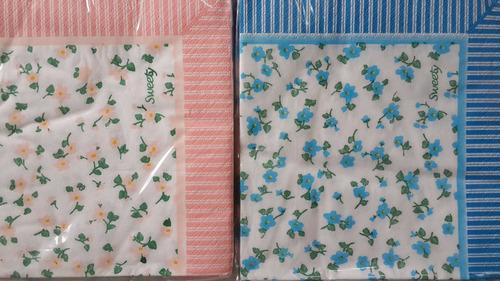 20 servilletas descartables de papel de colores a lunares