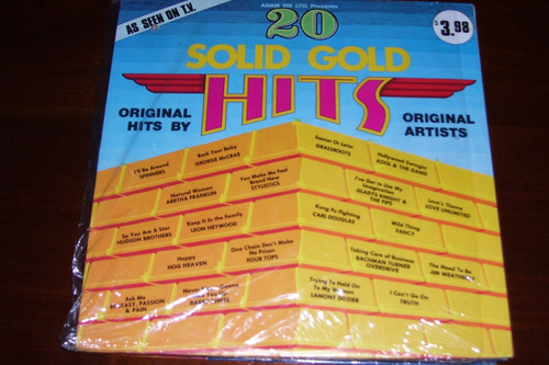 20 solid gold hits - lp vinilo funk  spinners barry white