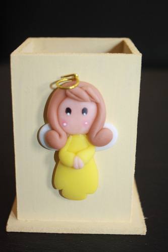 20 souvenir-lapicero  aplique porcelana comunion- bautismo