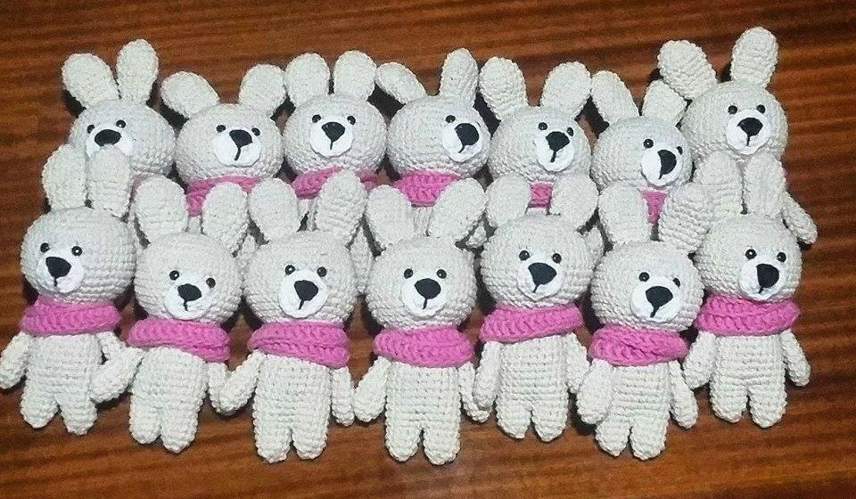 20 Souvenirs Animales Tejidos A Crochet - $ 2.500,00 en Mercado Libre