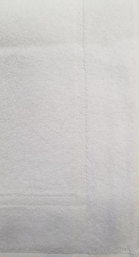 20 toalla tapete torzal recuadro bca, 50x70 cm, peso 270 gr