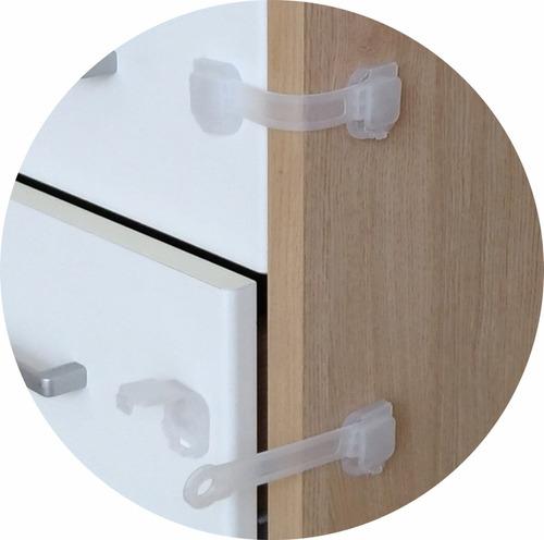20 trava gaveta armário segurança protetor proteção bebe inc