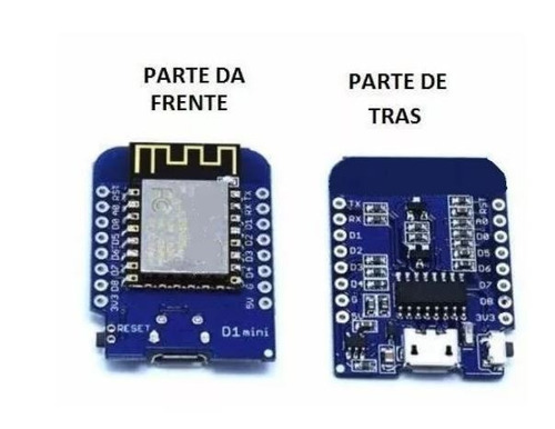 20 unidades módulo esp8266 d1 mini - wifi