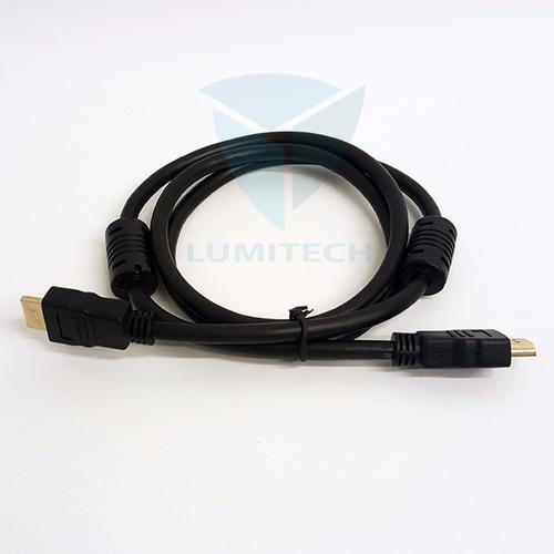 20 unidades por mayor - cable de hdmi a hdmi - 1.2 mts