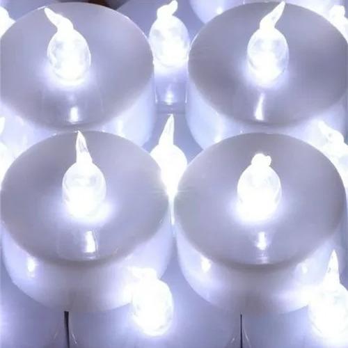 20 velas de led eletrônica decorativa incluso bateria festas