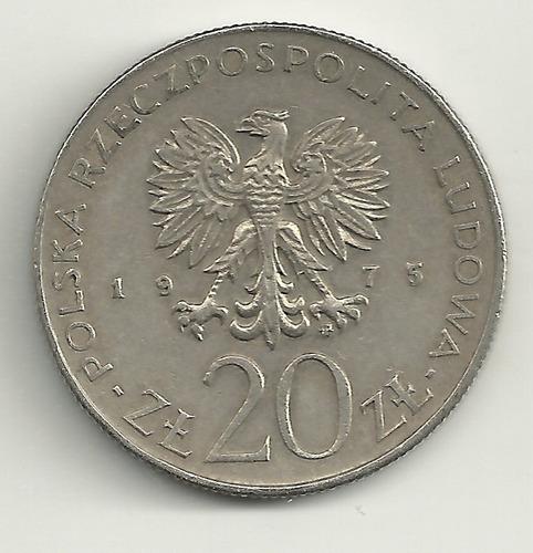 20 zlotych 1975 - ano da mulher