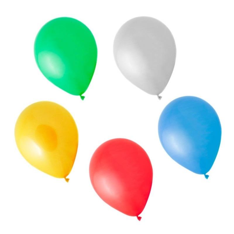 200 Balões Coloridos Bexiga Art Latex Para Festa Colorida R 96