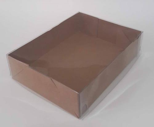 200 caixas para 12 bombons brigadeiro doce-tampa transp.