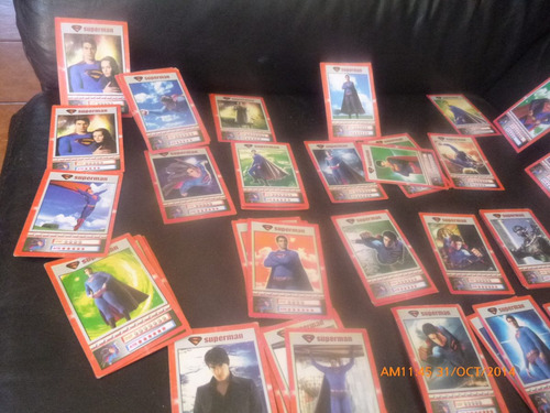 200 cartas superman returns oleograficas (a2