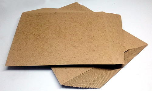 200 cartulina kraft tamaño oficio de papel
