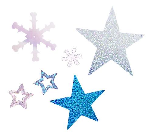 200 copo de nieve estrella adorno fiesta frozen navidad full