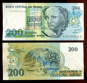 200 Cruzeiros - 1990 - C 212 - Soberba / Fe - Lote 249