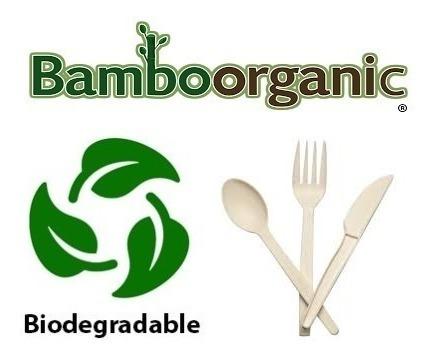 200 cucharas biodegradables de fecula de maiz