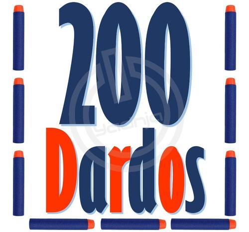 200 dardos de repuesto compatibles para nerf n-strike elite