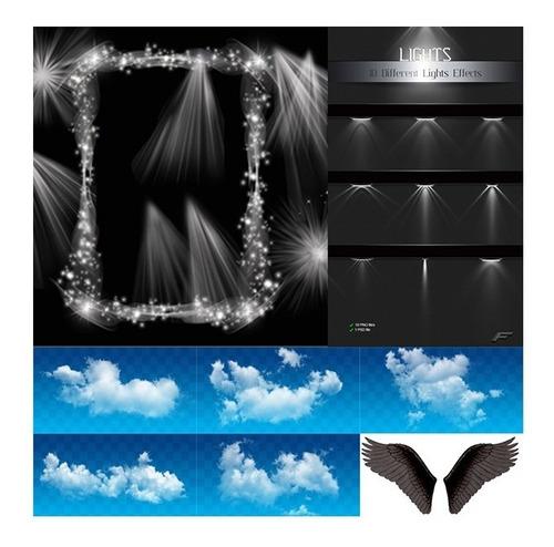 200 efectos de fotomontajes fotográficos formato photoshop