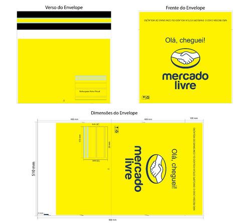 200 envelopes plasticos seguranca mercado livre g 50x40cm