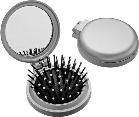 200 espelhos com escova personalizados com sua arte