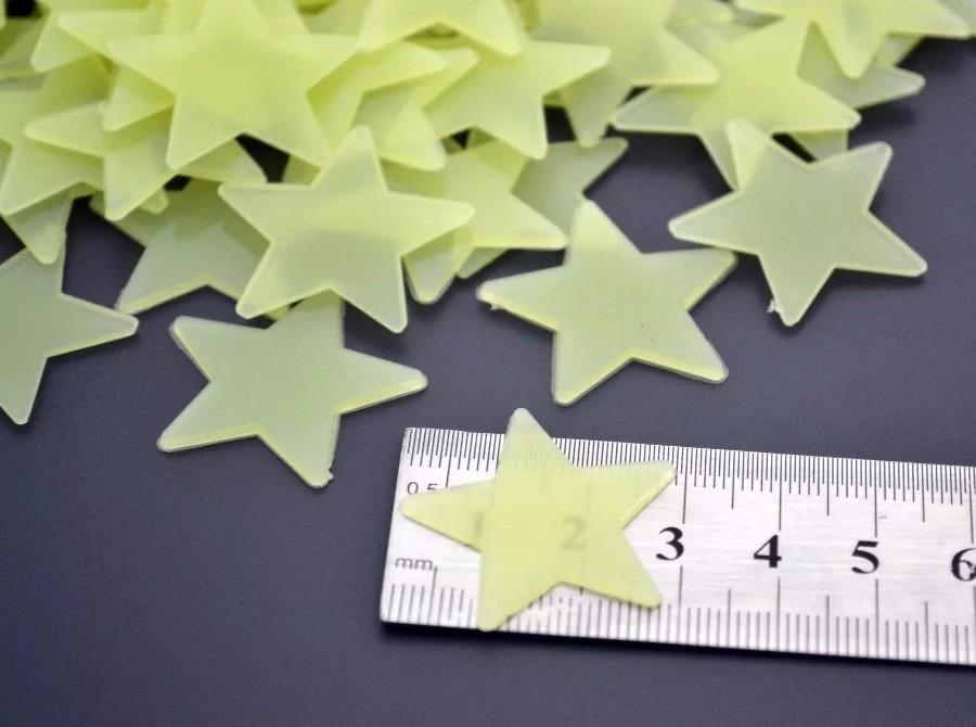 Armario Segunda Mano Mallorca ~ 200 Estrela Teto Parede Fluorescente Adesiva Brilha Escuro R$ 75,00 em Mercado Livre