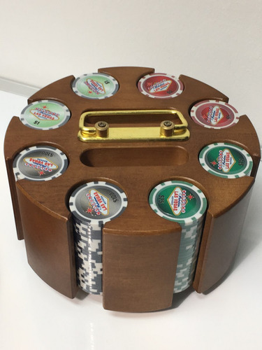 200 fichas de poker las vegas en base giratoria mesa vegas
