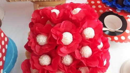 200 forminhas de doces finos de papel crepom cores