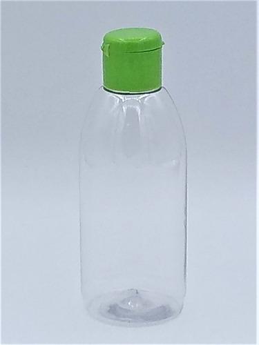 200 frasco pet 100ml tampa flip top para lembrancinhas