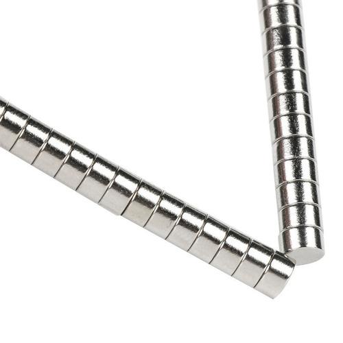 200 ímã neodímio extra potente aderente 5mm x 2mm