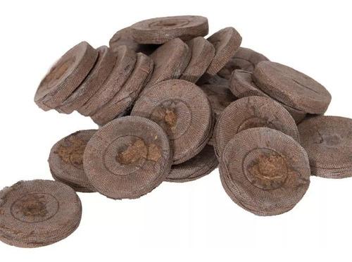 200 jiffy pellets peat moss comprimido - mejor germinacion