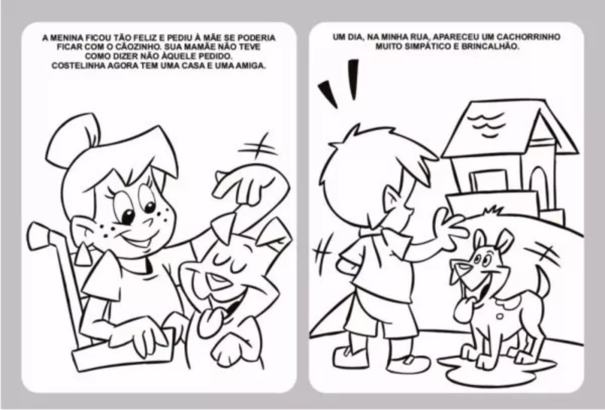200 Livros De Colorir Atividades Infantis Atacado Varios R 85