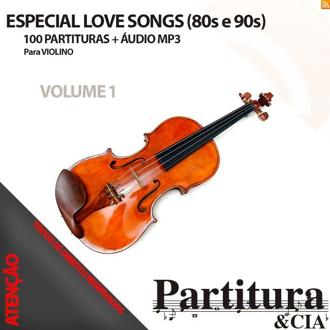 200 Love Songs Internacional(80s E 90s) Para Violino Vol 1,2