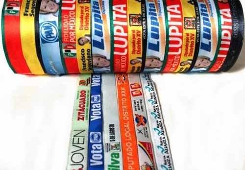 200 manillas publicitarias en tela  envió gratis oferta