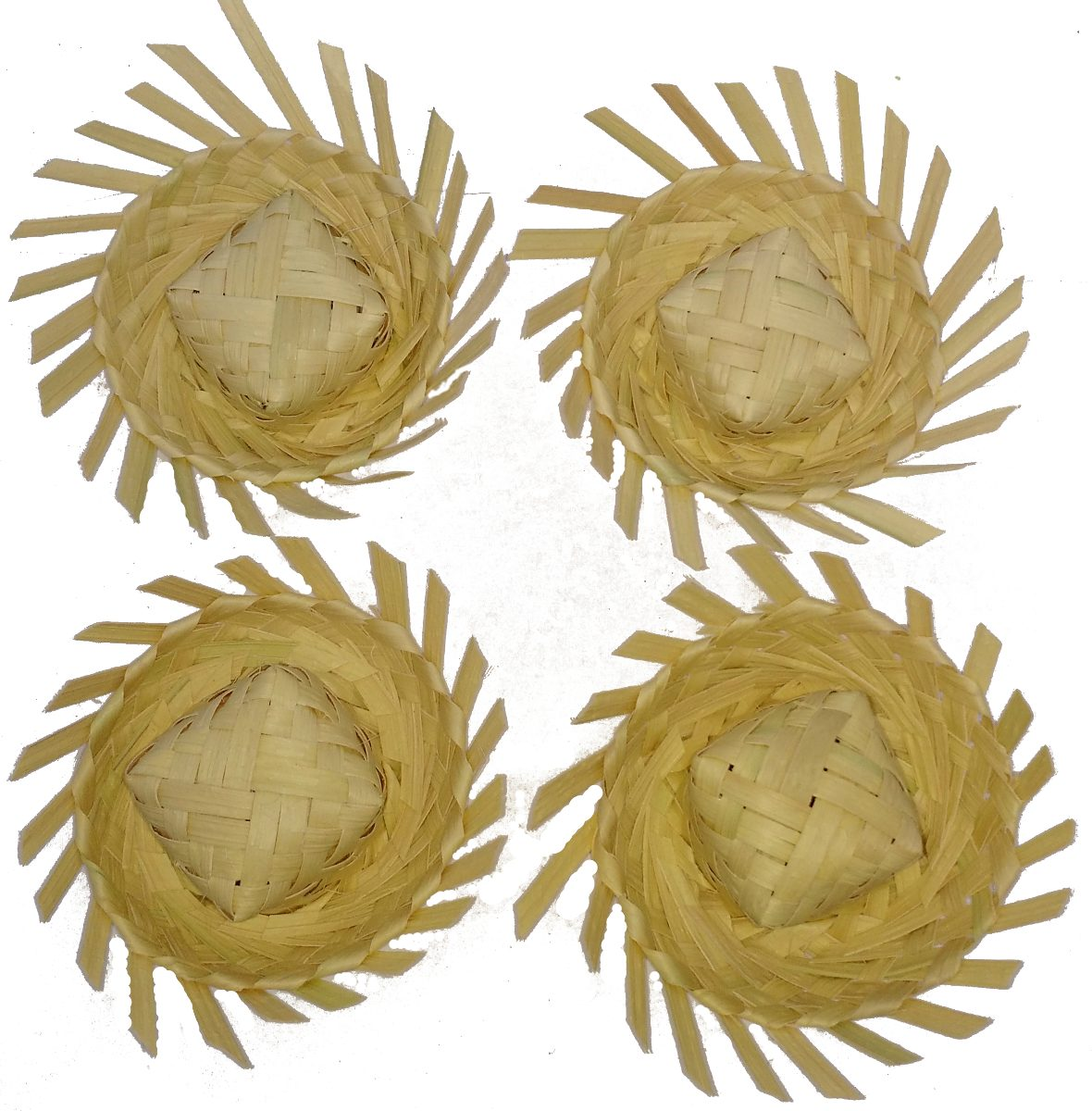 200 mini chapéu de palha lembrancinha junina enfeite doces. Carregando zoom. 2659eb62f78