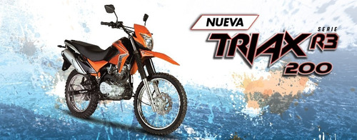 200 motos corven triax
