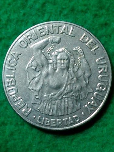 200 nuevos pesos. uruguay. 1989