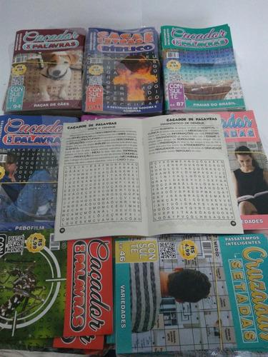 200 passatempos,caça-palavras,cruzadas,criptons e números.