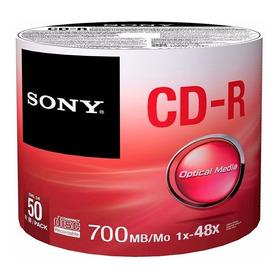 200 Pz Cd Sony Logo Virgen 48x 700mb 80m.