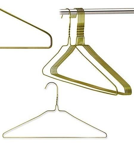 200 pz de gancho de metal dorado para camisa de tintoreria